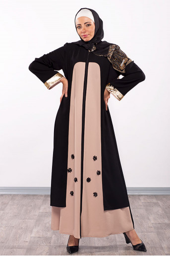Two Color Abaya