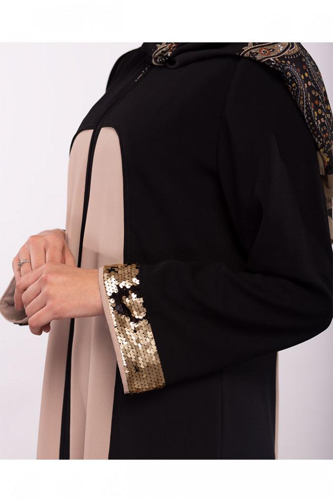 Two Color Abaya
