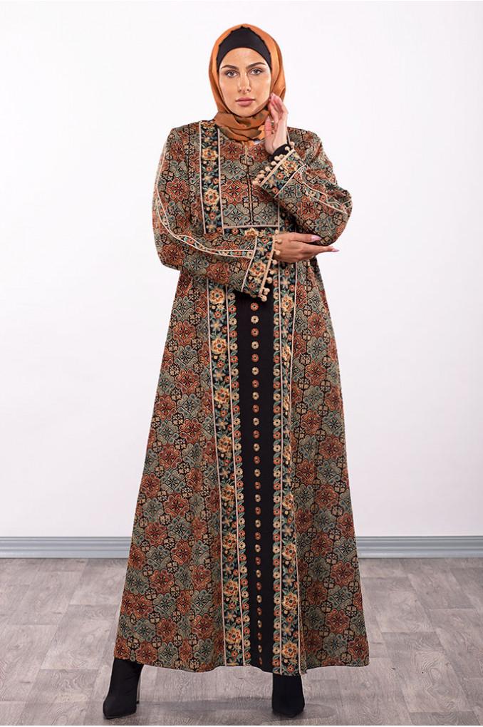 Colored Abaya