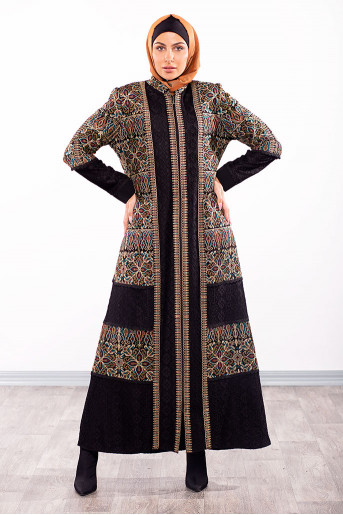 Formal Embriodery Abaya