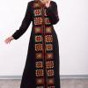 Square Embriodery Abaya
