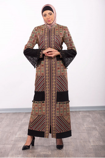 Full Embroidery Abaya