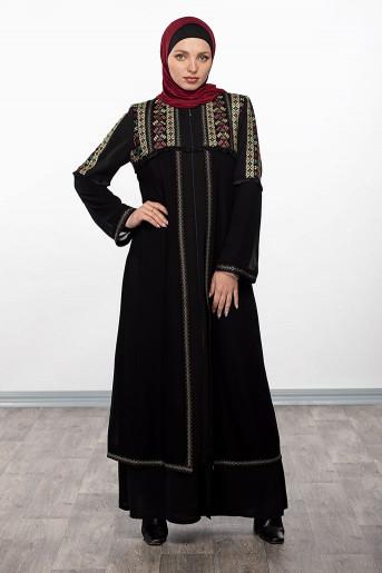 Two Layer Abaya