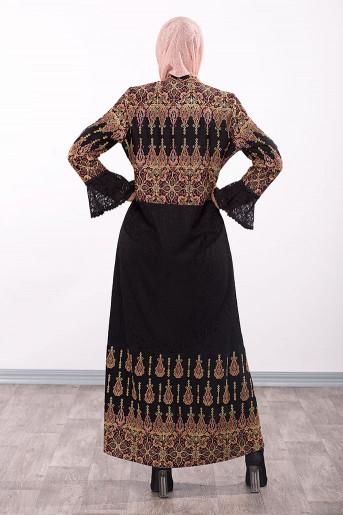 Dress Embroidery Abaya