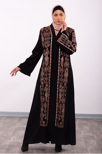 Formal Embroidery Abaya