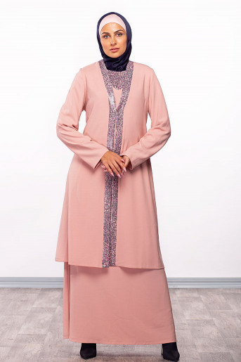 Two Layers Formal Abaya