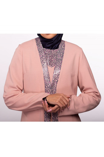 Two Layers Formal Abaya