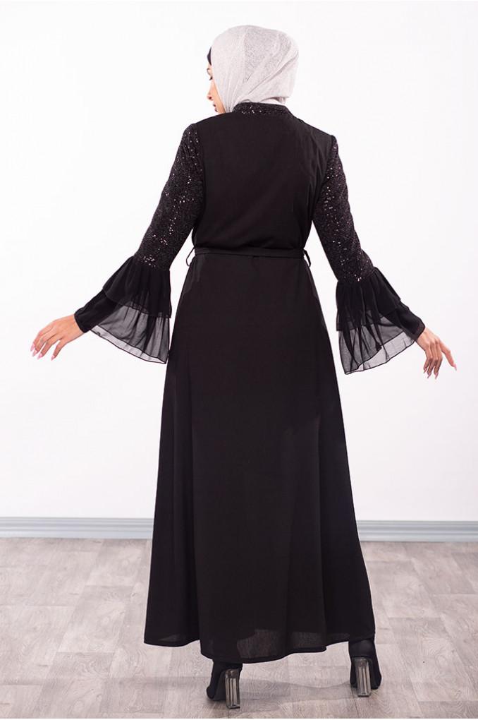 Two Layers Wrist Abaya