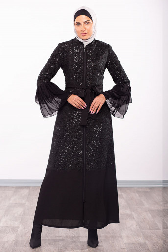 Two Layers Wrist Abaya