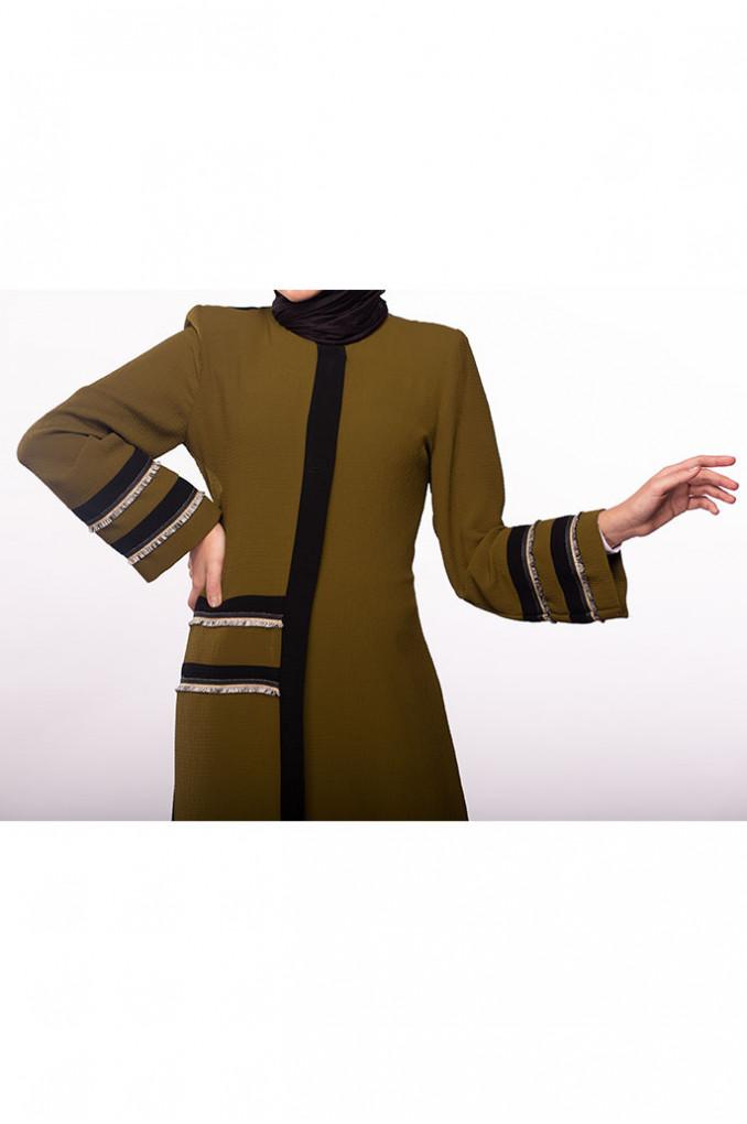Multi-Colored abaya