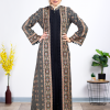 Fully Embroidered modern Abaya