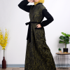 Casual stylish colored Abaya