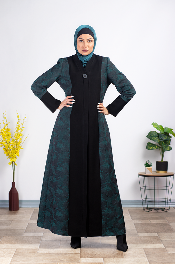 Stylish Formal multicolored Abaya