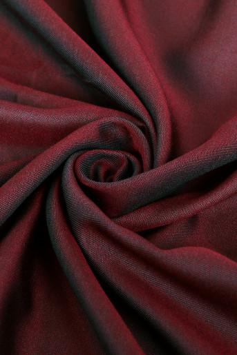 Burgundy shawl