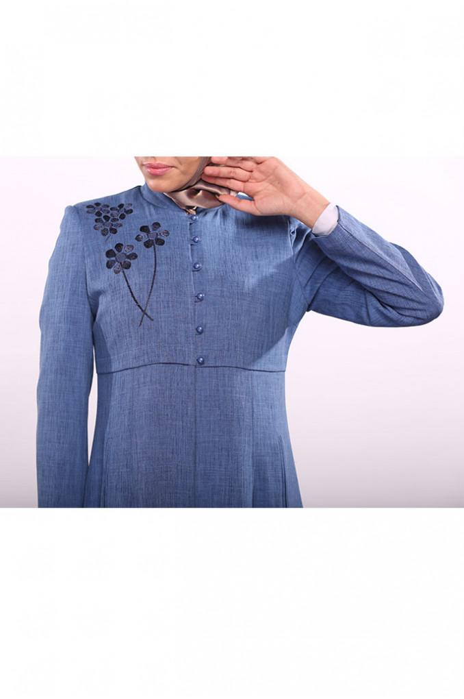 Formal Embroidered Jilbab