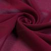 Baby Burgundy Polyester Scarf