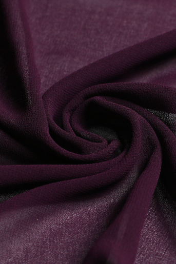 Burgundy Polyester Scarf