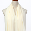 OffWhite Polyester Scarf