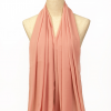 Apricot Polyester Scarf