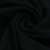 Black Polyester Scarf