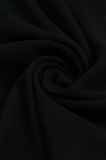 Black Polyester Scarf