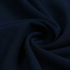 Dark-Blue Polyester Scarf