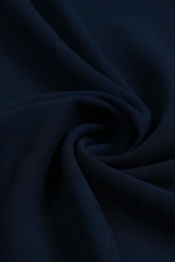 Dark-Blue Polyester Scarf
