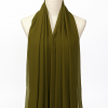 Green Polyester Scarf