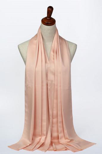 Baby-Apricot Silk Scarf