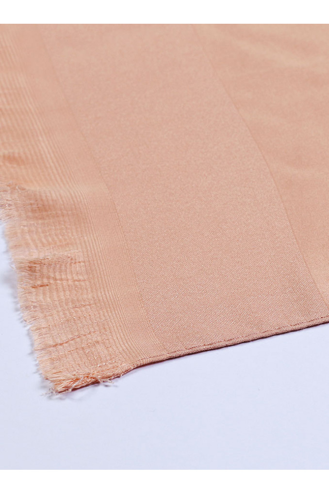 Baby-Apricot Silk Scarf