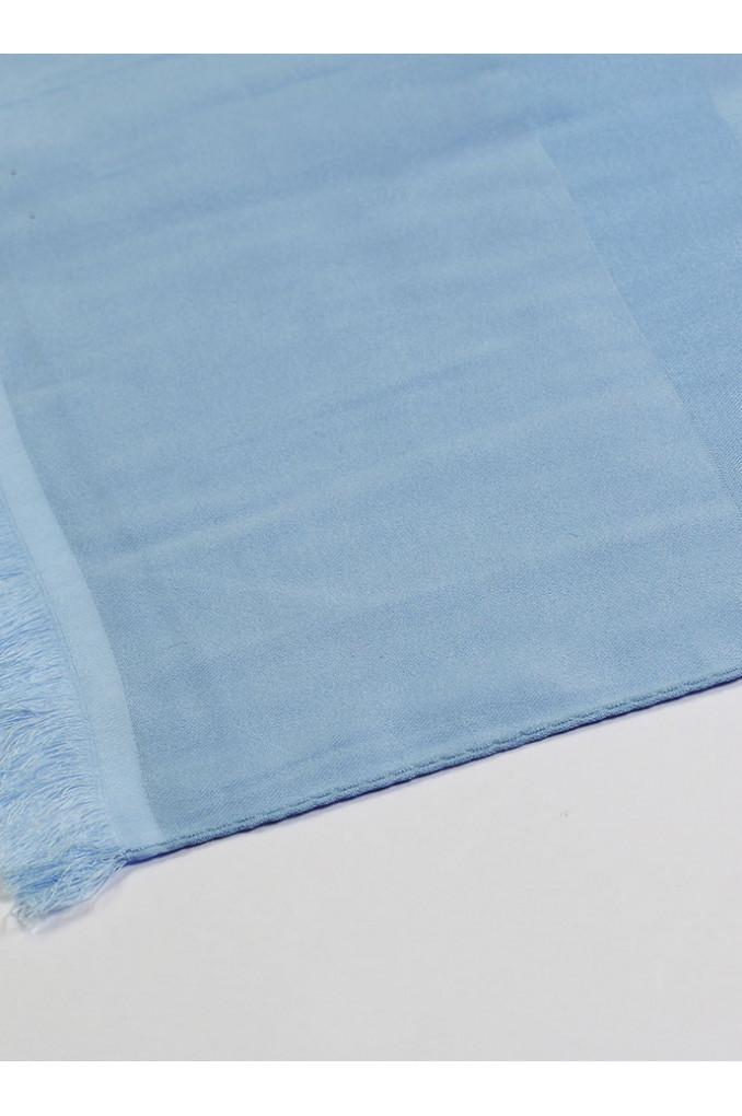 Baby-Blue silk Scarf
