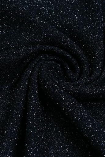 Bright Dark-Blue Scarf