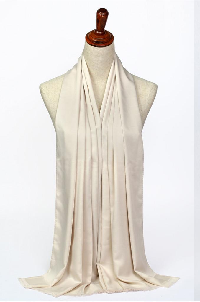 OffWhite Silk Scarf
