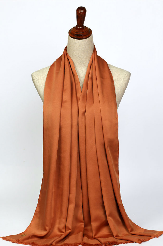 Bright Orange Scarf