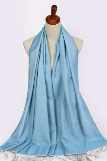 Baby-Blue Turkish shawl