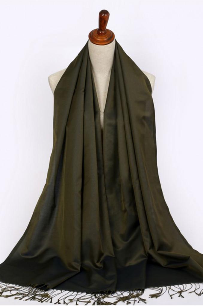 Green Turkish shawl
