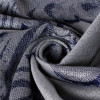 Gray Jacquard Turkish Scarf