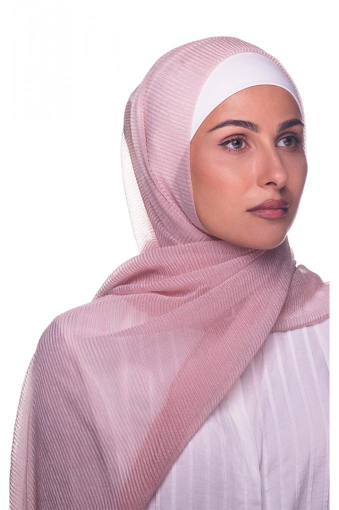 Pink Plain cashmere Shawl