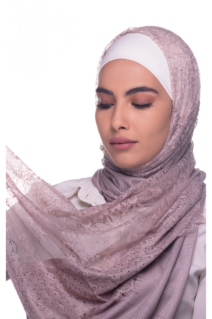 Sumo Plain Shawl Made From Dental and Cotton