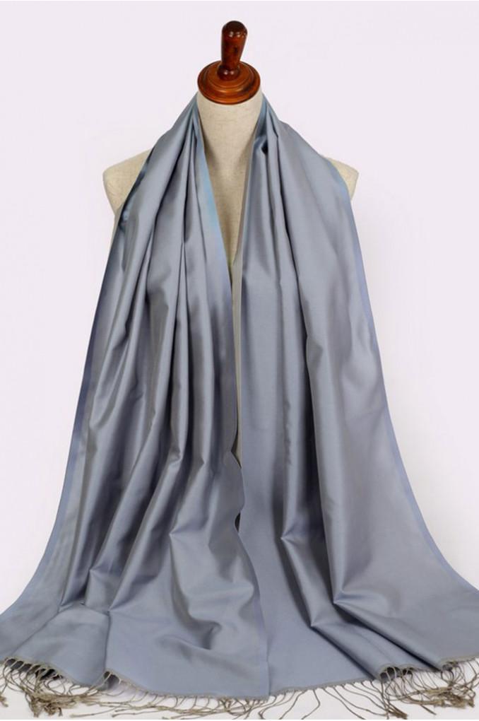 Silver Turkish Scarf