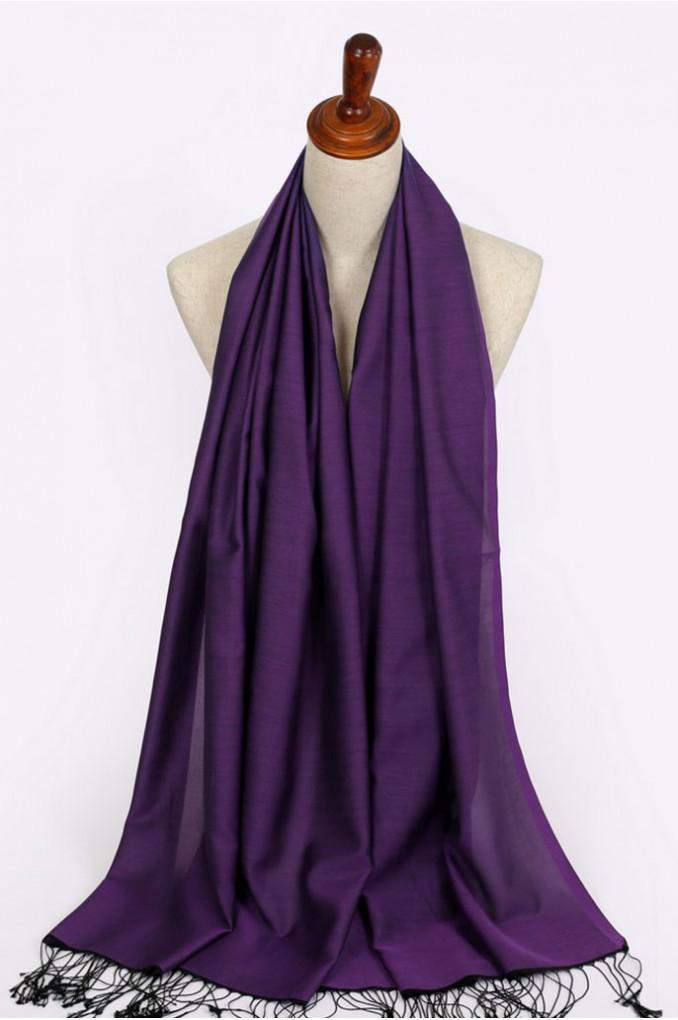 Purple Turkish shawl