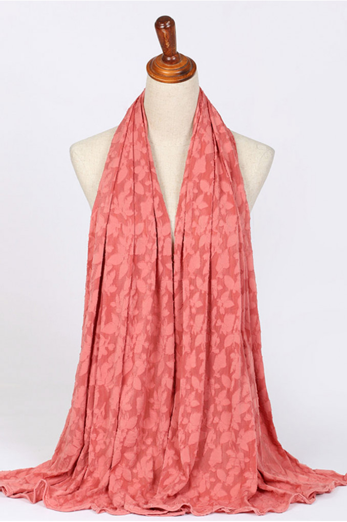 Winter Apricot Scarf