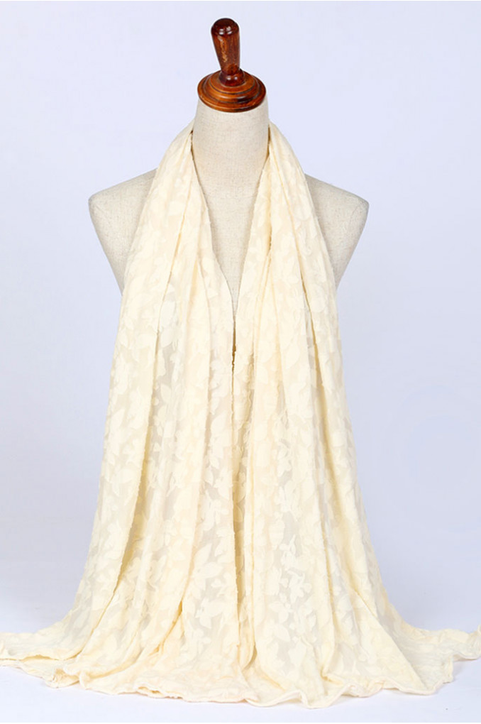 Winter OffWhite Scarf