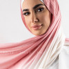 Dust Rose and Ivory Multi colored cotton Stylish Shawl