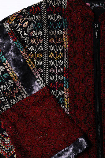 Abaya with texture