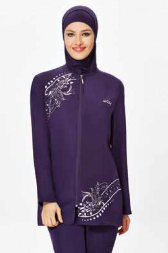 Purple Swim Wear