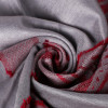 Red & Silver Scarf