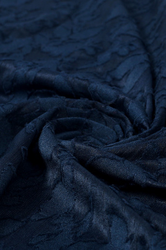 Dark-Blue Scarf
