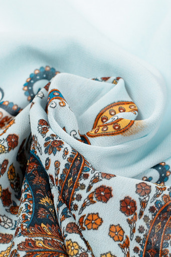 Viened Baby-Blue Scarf