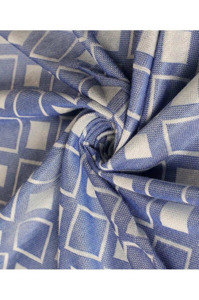 indigo scarf